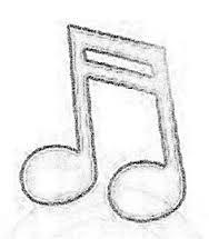 Resultado de imagem para notas musicais de feltro molde