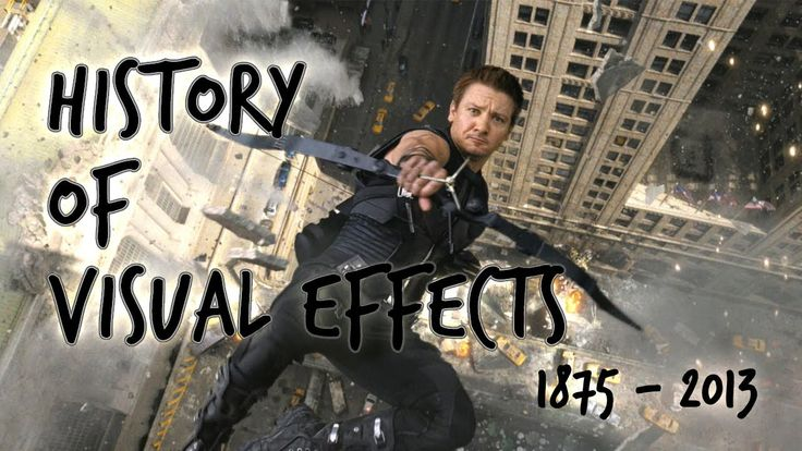 History of Visual Effects 1875 - 2013