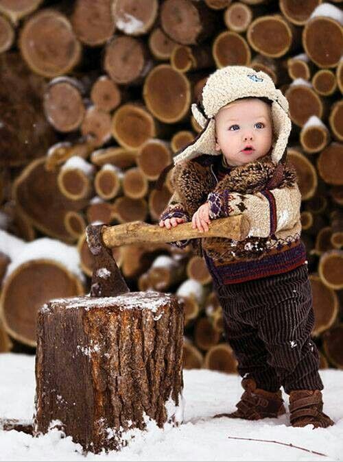 Lumberjack baby