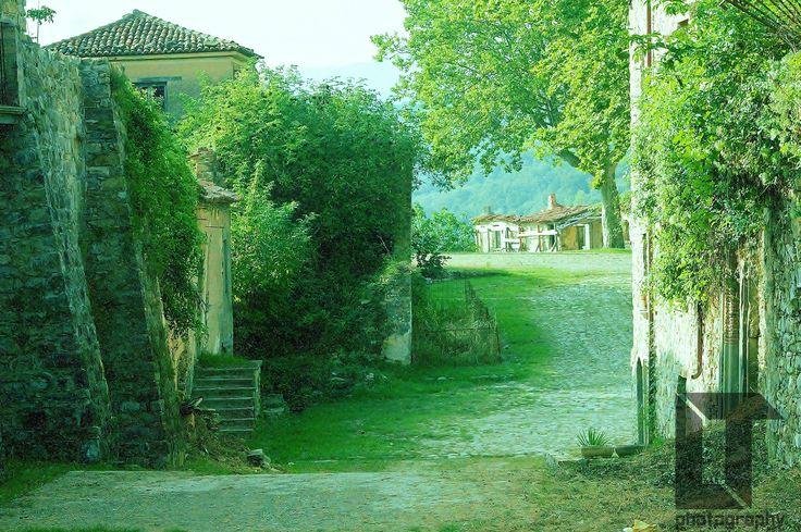 A street in Roscigno Vecchia