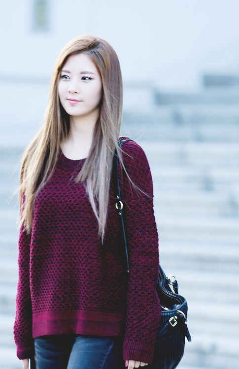 Seohyun of Girls' Generation. The prettiest, the most intelligent and all natural. Basically, perfection.