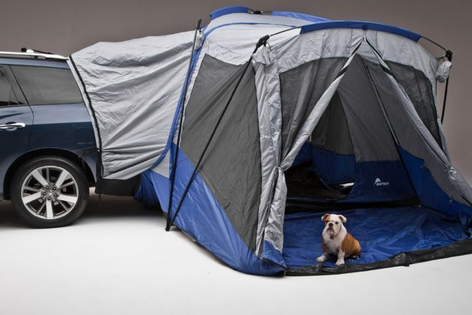 Nissan Pathfinder -optional add on features a camping tent ...