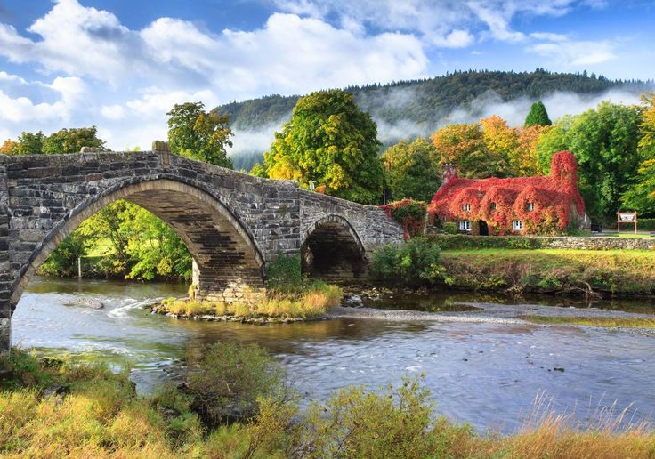 500-year old tea house in Wales - Imgur