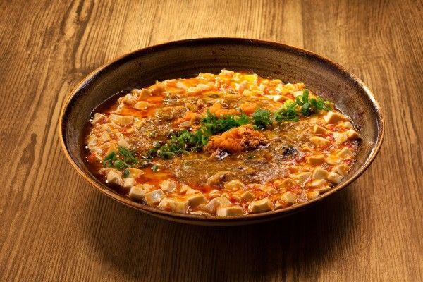 蟹粉泡椒滑豆腐