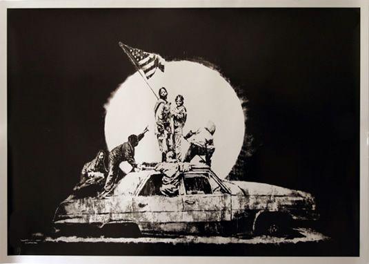 Banksy : バンクシー(banksy)の作品画像コレクション - NAVER まとめ