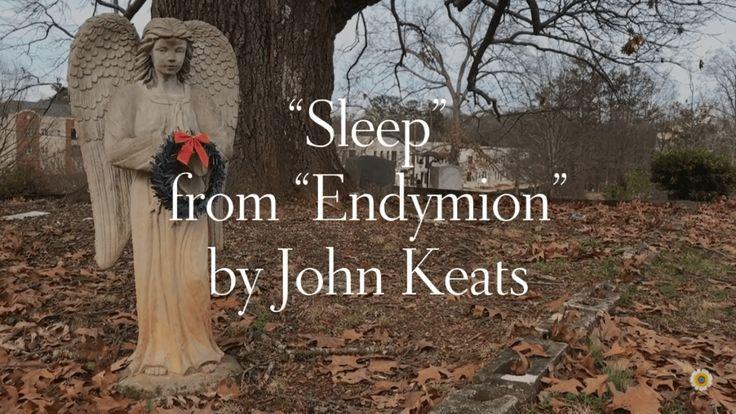"""Sleep"" from ""Endymion"" | O MAGIC sleep! O comfortable bird, That broodest o'er the troubled sea of the mind"" #poem #poetryreading #sleep #endymion #dreams #duluth #motivationmonday #asmr #asmrreading #asmrvideo #sleependymion #johnkeats >>> https://whatthechrysanthemumknows.com/2018/02/12/sleep-from-endymion/"