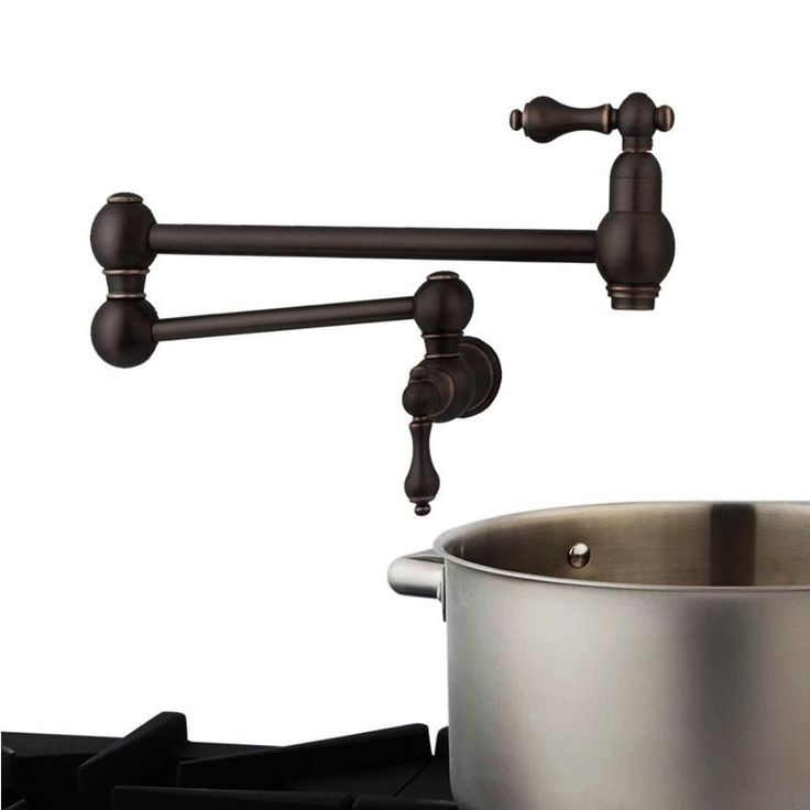 Solid Brass Pot Filler Tap Double-Jointed Swinging Wall Mount Kitchen Pot Filler Faucet  Multiple colors tap - ICON2 Luxury Designer Fixures  Solid #Brass #Pot #Filler #Tap #Double-Jointed #Swinging #Wall #Mount #Kitchen #Pot #Filler #Faucet # #Multiple #colors #tap