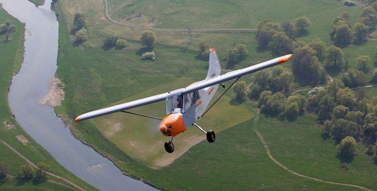 30 Min. Buschflugzeug Rundflug Taucha #Flugzeug #Geschenk #Gutschein