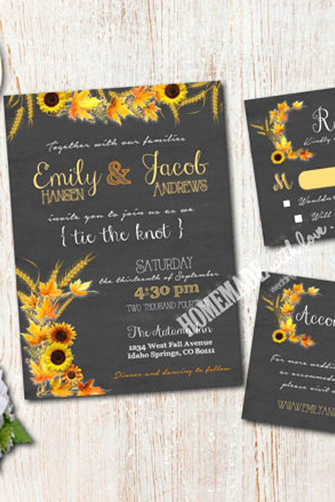 Best 25+ Sunflower wedding invitations ideas on Pinterest | Rustic ...