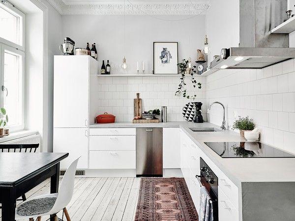 Inspirerande lägenhet på Nordhemsgatan 20