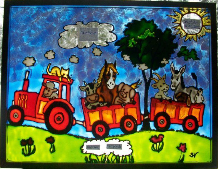 Mon amie Sabrina qui fait des merveilles de faux-vitraux! Faux-Vitraux pour enfants - faux-vitrail-sabrina.over-blog.com