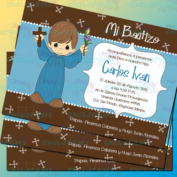 To Go With The Precious Moments Theme Baptism Party
