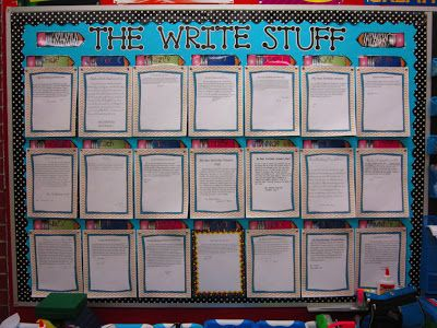 Put some P.O.W. in your Writing with 10 min. daily writing. Kiddos learn how to construct a good paragraph. Check out this site to see how this teacher has her students asking for more!