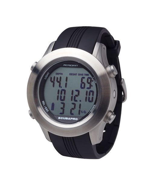 SCUBAPRO introduces the MERIDIAN Watch Computer: a complete dive computer for freedom underwater and a multi-feature watch for timeless style on the surface.