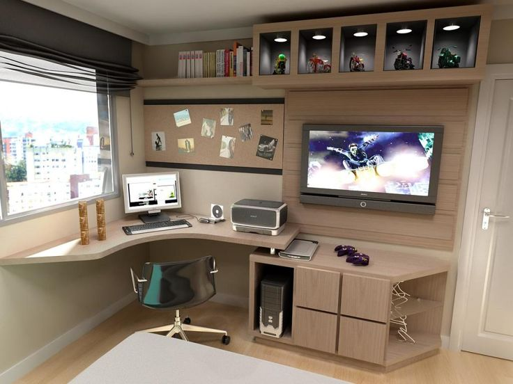 sobre Quarto Gamer no Pinterest Decora??o de videogame, Quarto ...
