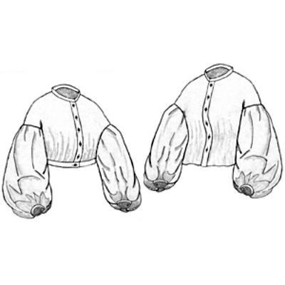 Amazon Drygoods - 1861 Garibaldi Blouse, $11.00 (http://www.amazondrygoods.com/products/1861-garibaldi-blouse.html)