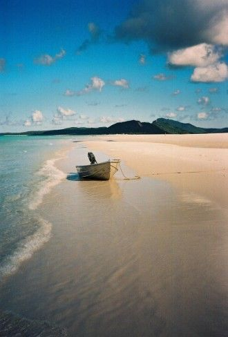 Whitsunday Island, Australia. This is what i need , sand under my feet, sun on my face and the sound of the sea!