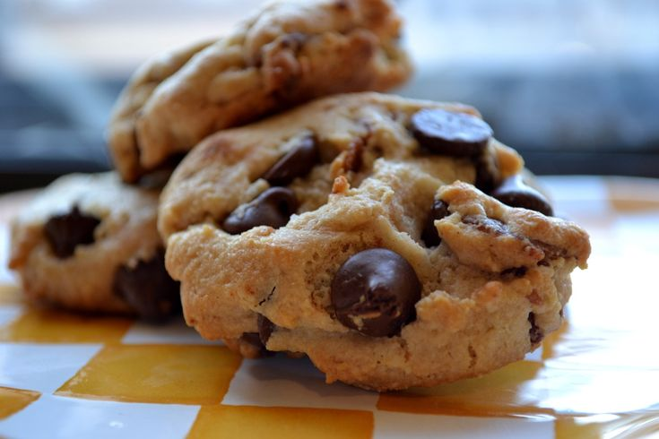 Bacon Chocolate Chip Cookies ~ Gluten Free made with almond flour