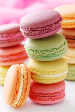 have u ever noticed how much macaroons look like pretty pattys?