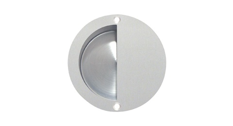 Details About Satin St St Circular Flush Or Recessed Pull