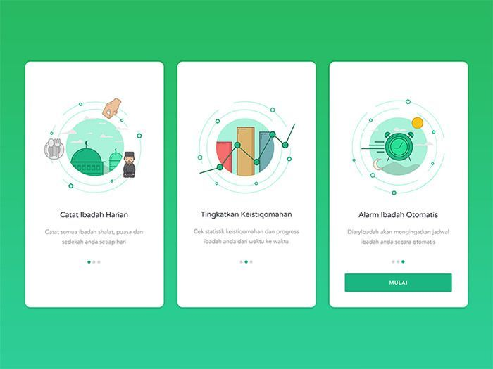 40 Mobile Apps Onboarding Designs for Your Inspiration