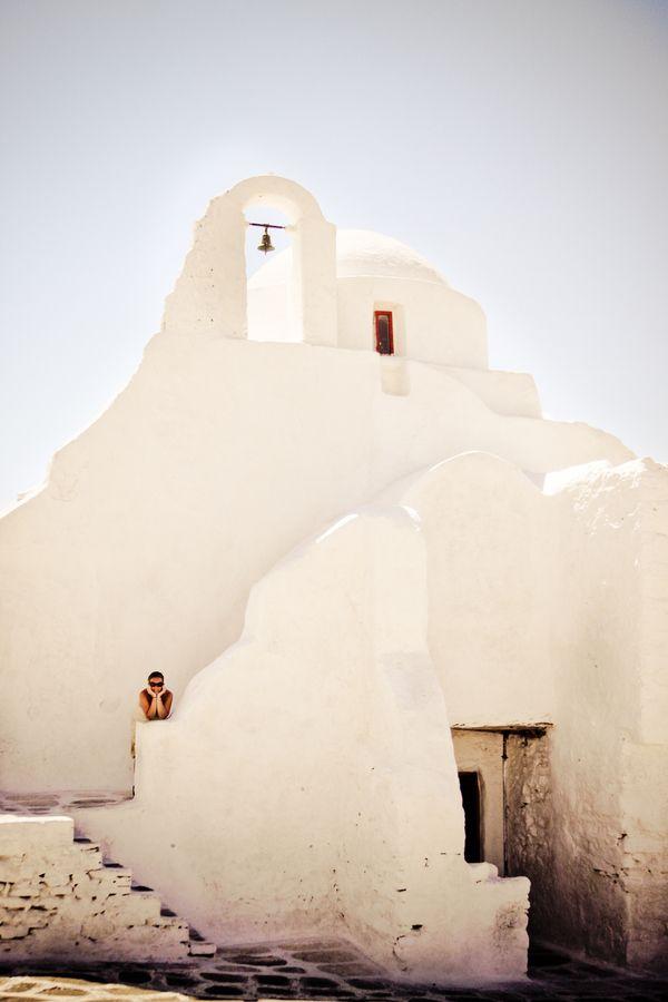 Church of Paraportiani, Mykonos, Greece *