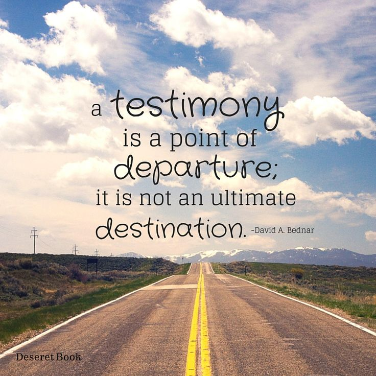 """Thought from the book """"Power to Become: Spiritual Patterns for Pressing Forward with a Steadfastness in Christ,"""" by David A. Bednar. #lds"""
