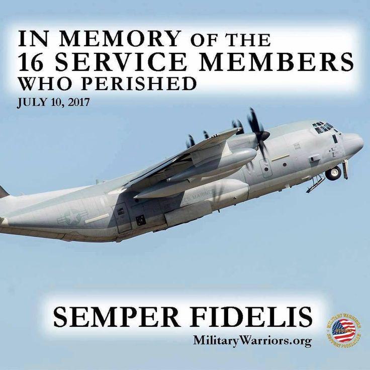 #Marines #Semper #Fidelis #Memory July 2017 #Deaths
