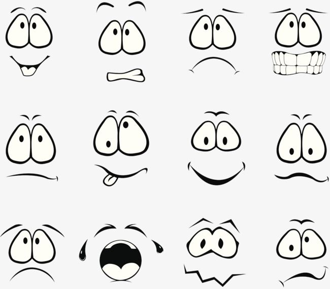 Millions Of Png Images Backgrounds And Vectors For Free Download Pngtree Cartoon Clip Art Cartoon Faces Expressions Cartoon Expression