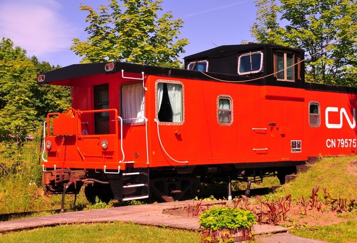 Looking for unique accommodation? The historic Train Station Inn, Tatamagouche, Nova Scotia, Canada, can help you out!