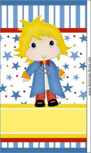 kit festa pequeno príncipe tubete