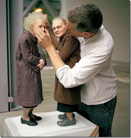 by Ron Mueck