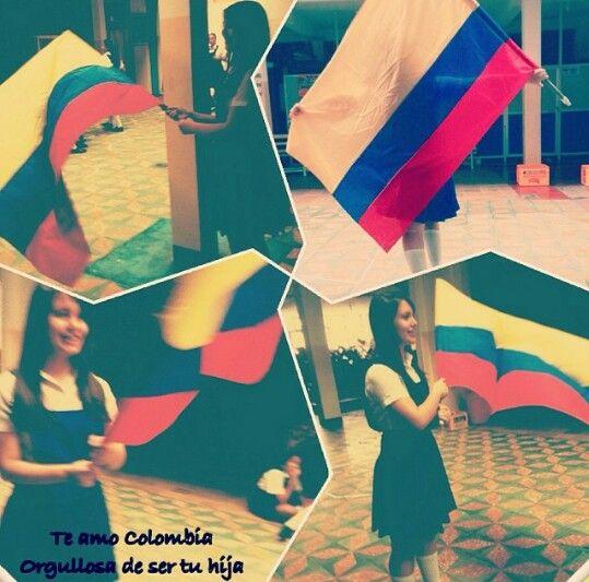 Colombia orgullosa de mi país porque el si agradece todas las oportunidades que Dios nos da a cada momentos viva mi país