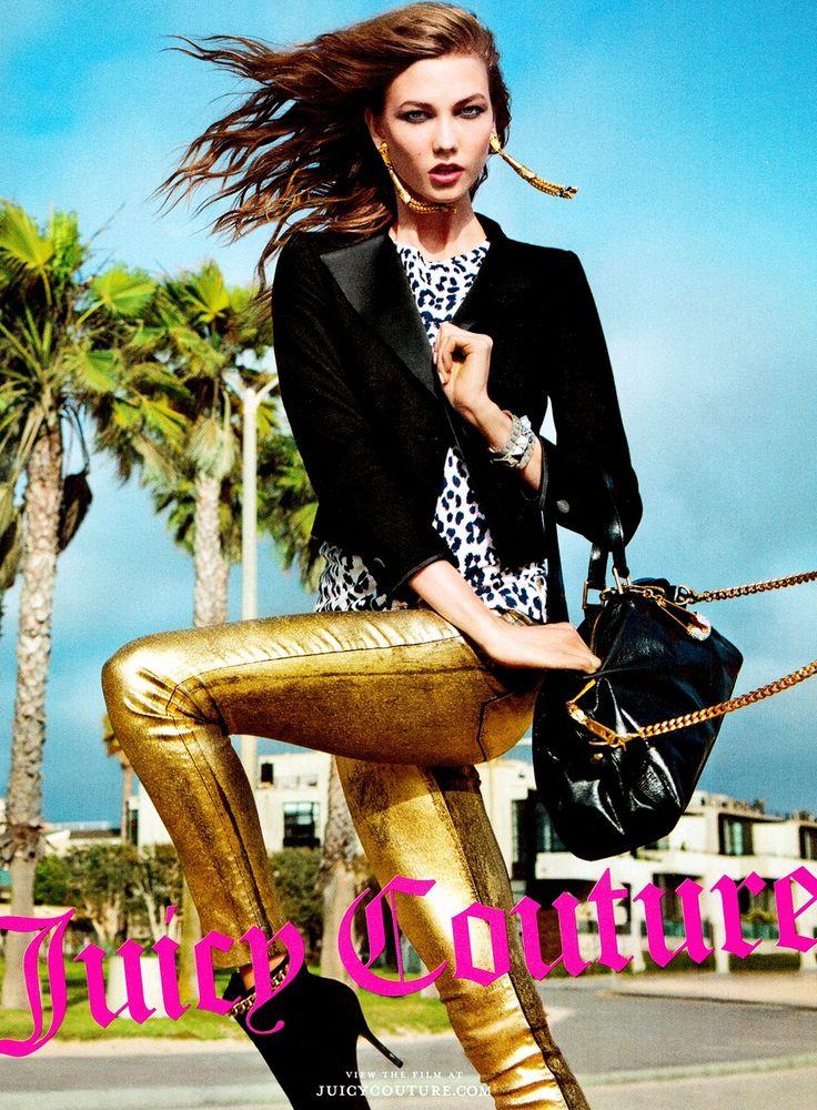 Juicy Couture Karlie Kloss Inez & Vinoodh