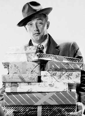 """Robert Mitchum, """"Holiday Affair"""" (1949)~ not one of his best but still cute movie"""