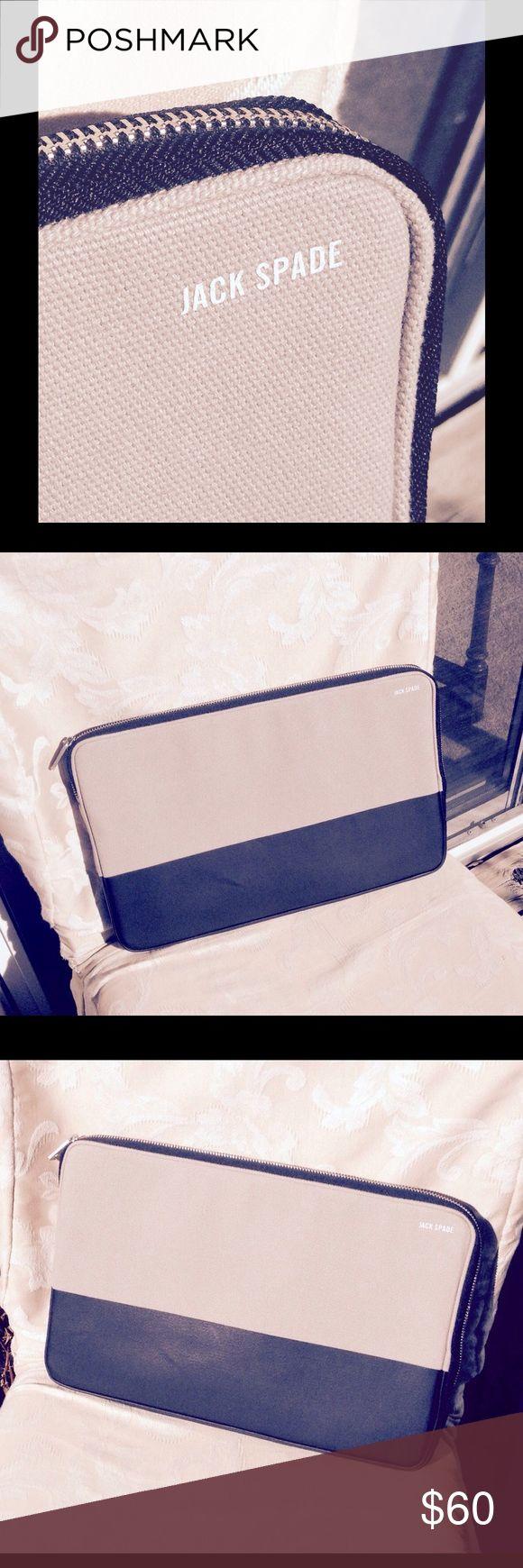 🚂🚂. Jack Spade laptop bag Men's two tone Jack Spade laptop bag.  You know the brand. Jack Spade Bags Laptop Bags