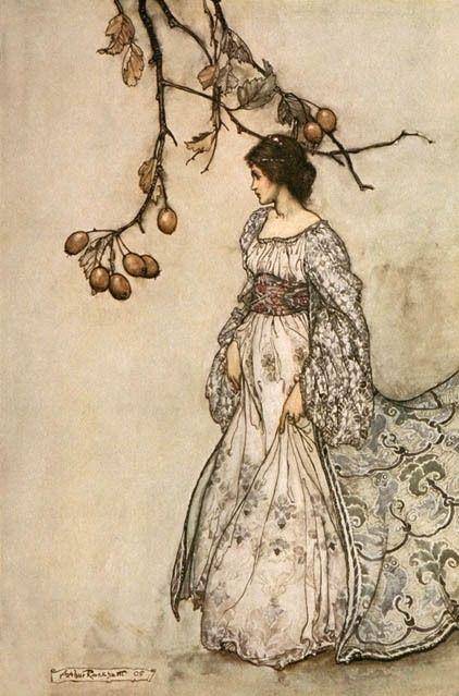 arthur rackham illustrations | art, arthur rackham, fairy, fairytale, femininity, illustration …