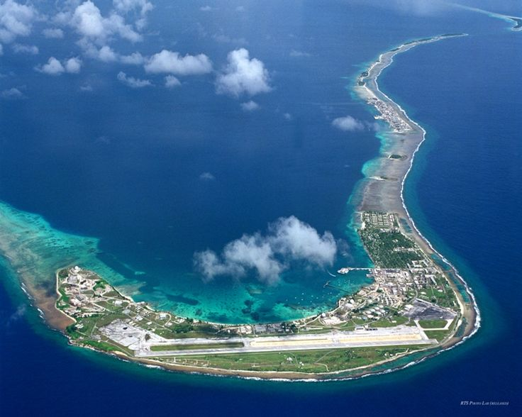Kwajalein. The largest island in the Kwajalein atoll in the Marshall Islands. I lived here as a child.