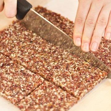 Cómo hacer barritas energéticas con chocolate - 8 pasos