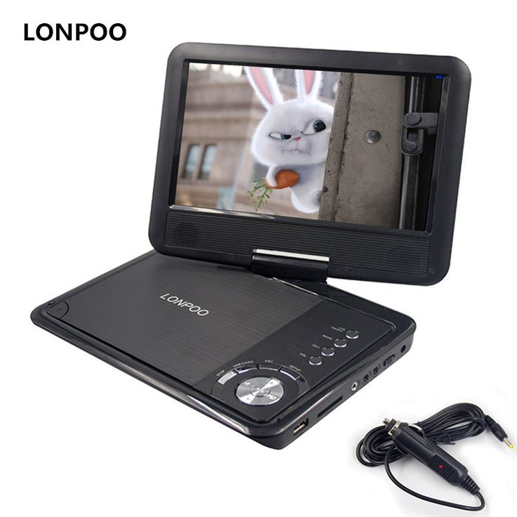 LONPOO New 9 Inch Portable DVD Player Swivel Screen VCD CD RW MP3 DVD Player USB SD Card TV Game With Car Charger DVD Player |  Compare Best Price for LONPOO New 9 Inch Portable DVD Player Swivel Screen VCD CD RW MP3 DVD Player USB SD Card TV Game with Car Charger DVD Player product. Here we will provide the information of finest and low cost which integrated super save shipping for LONPOO New 9 Inch Portable DVD Player Swivel Screen VCD CD RW MP3 DVD Player USB SD Card TV Game with Car…