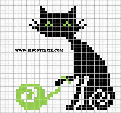Kitten Knitting Chart : Best cross stitch cats images on pinterest punch