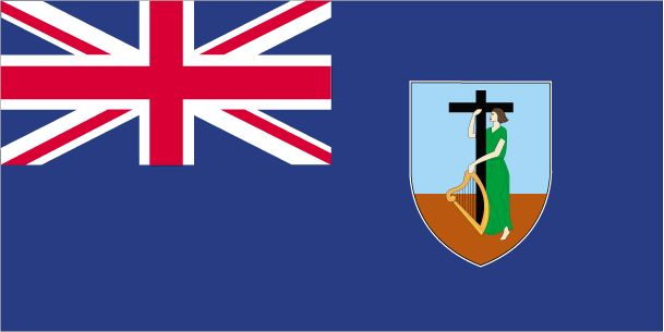 Country Flags: Montserrat Flag