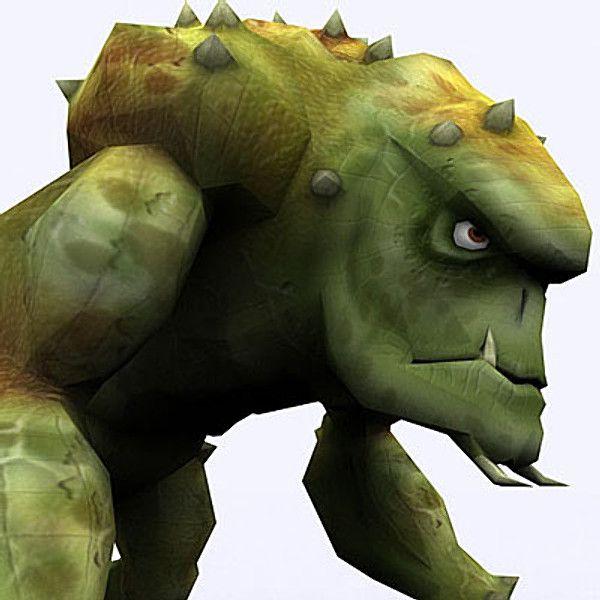 Fantasy Troll 3D Model - 3D Model
