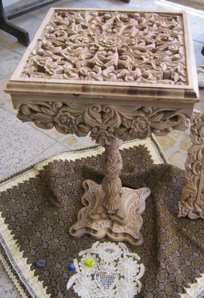 Иранское искусство резьбы по дереву - Шевченко Андрей