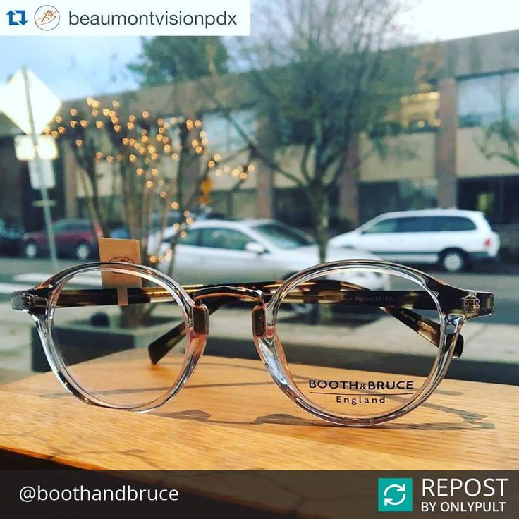 Repost from Booth & Bruce England thanks to @beaumontvisionpdx for sharing on Instagram!! #YYCFashion #YYCStyle