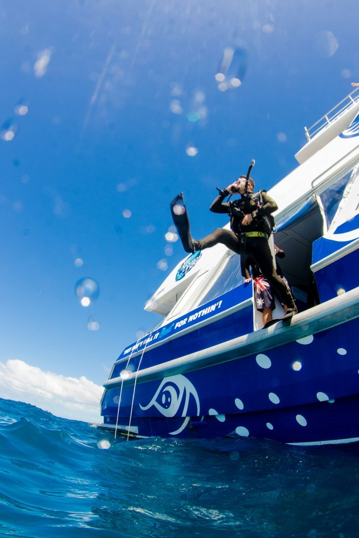 Jump on in - it's time to scuba dive on the #GreatBarrierReef!