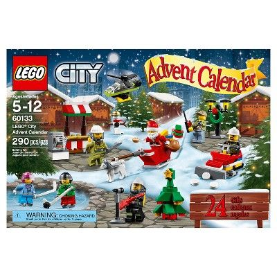 Lego City Town Advent Calendar 60133
