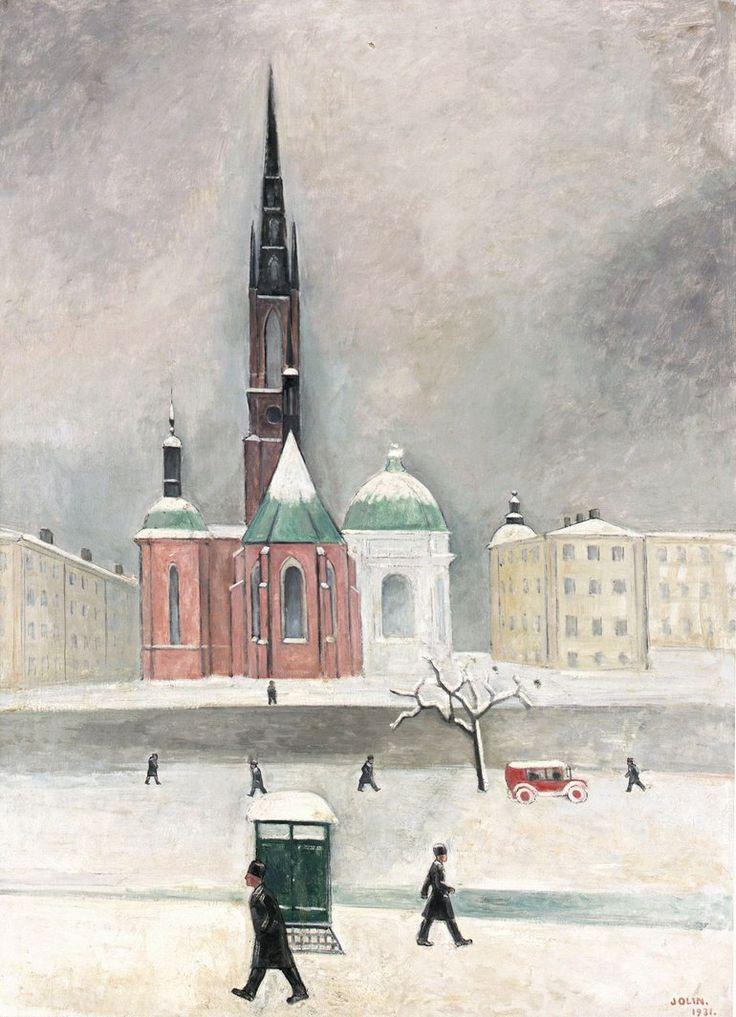 Einar Jolin / Эйнар Йолин (1890 - 1976) Швеция.