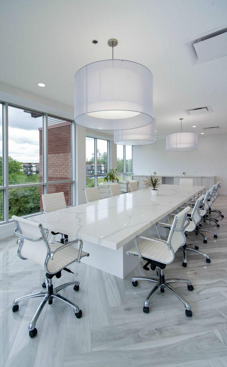 Boardroom table and seating by Jonathan Morgan & Company