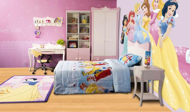 Cameretta da principessa Disney per bambine n.14
